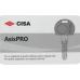 Купить Цилиндровый механизм «Cisa Asix Pro» ключ-хвостовик с перфорацией цена в Минске
