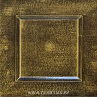 Окраска MDF состаренный металл 01 Золото